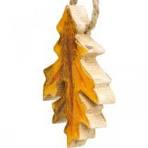 Koristeelliset roikkuvat puulehdet värikäs syksyn koriste 6,5×4cm 12kpl 12kpl