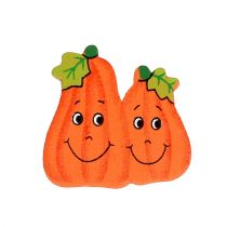 Puiset kurpitsaat 2,5 cm oranssin liimaamiseen 18kpl
