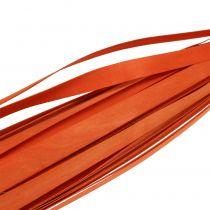 Puiset nauhat punontaan oranssi 95cm - 100cm 50p