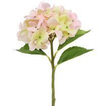 Keinotekoinen hortensia vaaleanpunainen 36cm
