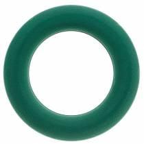 OASIS® Pistokkeellinen vaahtomuoviseppeleen rengas vihreä H3cm Ø25cm 6kpl.