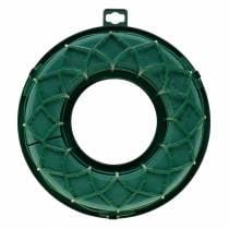OASIS® IDEAL universaalirengas kukka vaahtoseppele vihreä H4cm Ø18.5cm 5kpl