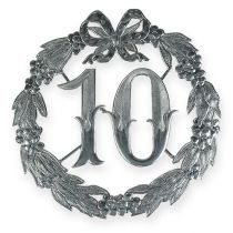 Vuosipäivä numero 10 hopeaa