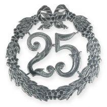 Vuosipäivä numero 25 hopeaa