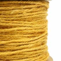 Juuttilanka keltainen Ø2mm 50m