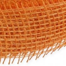 Juuttinauha vaalean oranssi 5cm 40m