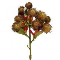 Kastanjanruskea ruskea 32cm