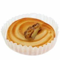 Keinotekoisesti lajiteltu pähkinä torttu 5cm 4kpl