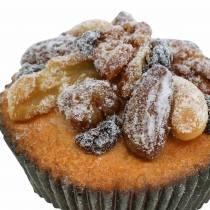Muffinit pähkinöillä keinotekoinen 7cm 3kpl