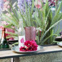 Kynttiläkuppi, pikarilasi, lyhty, lasikoriste Ø10cm K18,5cm