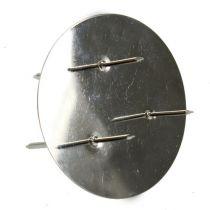 Kynttilänjalka Hopea Ø6cm 12kpl