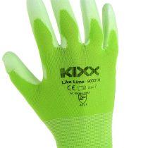 Kixx puutarhanhoitohanskat koko 7 vaaleanvihreä, lime