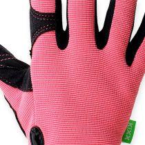 Kixx synteettiset käsineet koko 7 vaaleanpunainen, musta