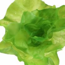 Vihreä salaatti keinotekoinen todellinen kosketus 17cm
