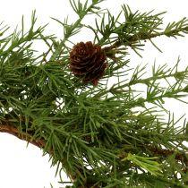 Seppele, pöytäseppele lehtikuusi vihreä Ø50cm