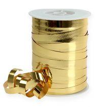 Kerää nauha kiiltävää 10mm 250m kultaa