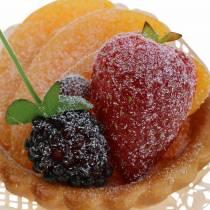 Keinotekoinen persikka torttu Ø8cm