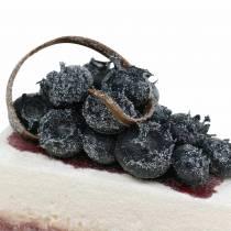 Piirakka pala mustikka keinotekoinen 10cm