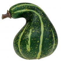 Keinotekoinen koristeellinen kurpitsa tummanvihreä 11cm 6kpl