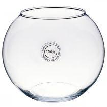 Pallo maljakko, kultakala lasi, lasi lyhty, koristelasi Ø18.5cm K16cm