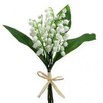 Keinotekoinen lilja valkoinen 25cm 3kpl