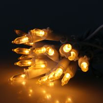 LED-miniketju 20L valkoinen lämmin valkoinen 3m