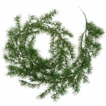 Lehtikuusi seppele vihreä 160cm