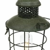 Koristeellinen lamppuvalaisin LEDillä Ø16cm H41cm