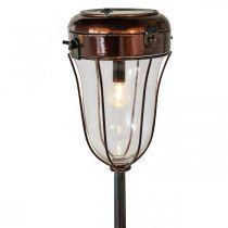 Aurinkolamppu pistorasiaan kytkettäväksi, LED-pöytävalaisin Ø13,5cm L58cm K21cm L58cm K21cm