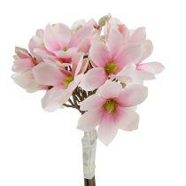 Magnolia kimppu vaaleanpunainen 40cm 5kpl