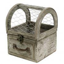 Langallinen laatikko istutettavaksi 13,5x13,5x18,5cm