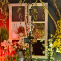 LED-lyhty, Deco Lamp Antiikki Look Ø16cm H43cm