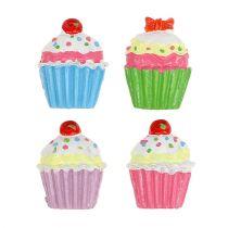 Mini cupcakes värillinen 2,5 cm 60kpl