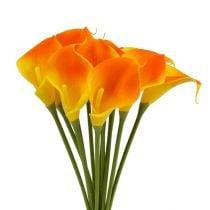 Mini Calla Keinotekoinen Keltainen 28cm 12kpl