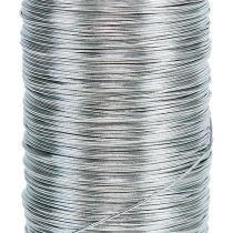Myyrlanka hopeasinkitty 0,37mm 100g 100g
