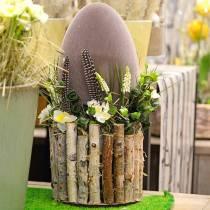 Pääsiäismuna Flocked H25cm Värilliset munat pääsiäisen koristelu