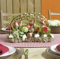Pistokkeellinen vaahtomuovitiili pöydän koriste 29cm x 12cm x 8,5cm 4kpl