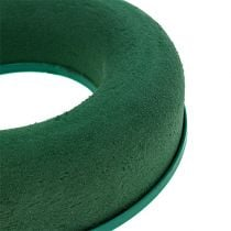 Vaahtomuovirengas seppele vihreä H4,5cm Ø17cm 6kpl 6kpl