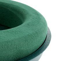 Tulppausmassa rengas tulppausvaahto kulholla vihreä Ø30cm H4,5cm 2St