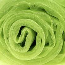 Koristeellinen kangas organza vihreä 150cm x 300cm