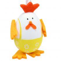 Maalattu muna kukkona ripustettavaksi sekoitukseen 7,5 cm 12 kpl