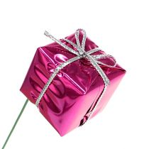 Paketti 2,5 cm vaijerilla vaaleanpunainen 60kpl