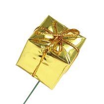 Pakkaukset 2,5cm langalla kultaiset 60kpl