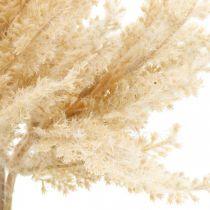 Keinotekoinen pampas ruoho kerma kuiva kukka 35cm 4kpl 4kpl