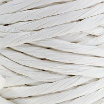 Paperijohto 6mm 23m valkoinen