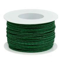 Paperinarun vaijeri kääritty Ø2mm 100m vihreä