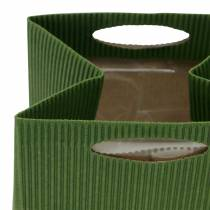 Paperipussi Kukkaruukku Planter Green Mix 10,5cm 12kpl 12kpl