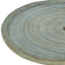 Koristelevy Paulownia puu Ø22cm