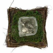 Istutintyyny rottinki, Moss 20cm x 20cm K8cm