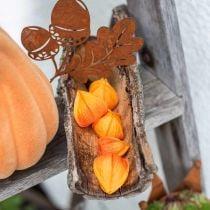 Physalis oranssi valikoituja 22kpl koriste kukka Calyx keinotekoinen